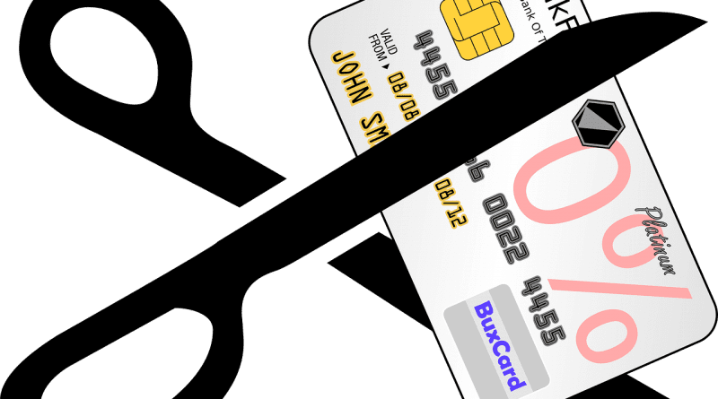 cancelled credit card